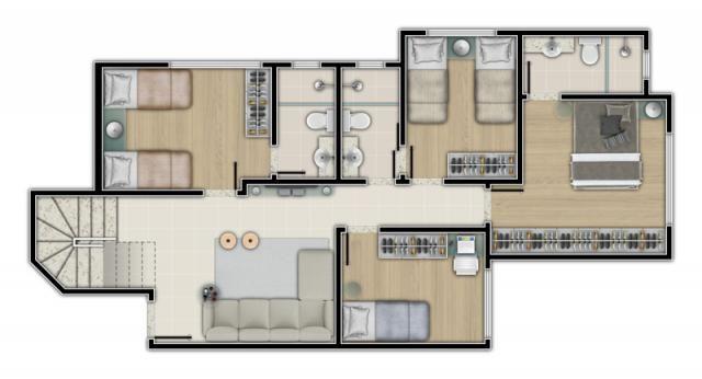 Apartamento à venda com 3 dormitórios em Jardim américa, Belo horizonte cod:2952 - Foto 5