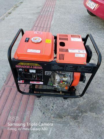 Gerador diesel 10 HP 6000 W - Foto 3