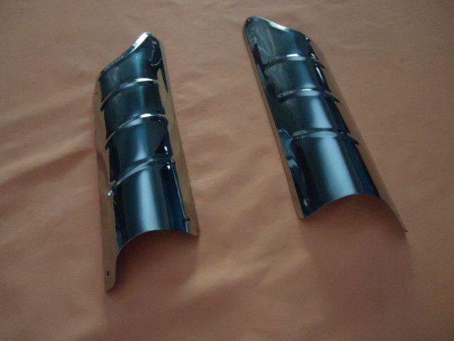 Acessório bate pé de coluna do fusca ( inox )