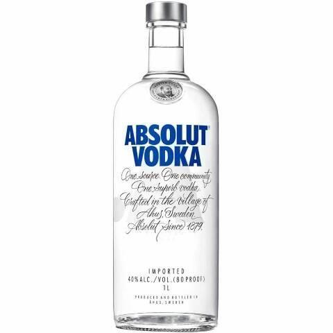 Vendo vodka absolut lacrada