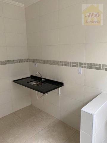 Casa com 2 dormitórios à venda, 50 m² por R$ 144.900 - Maracanã - Praia Grande/SP - Foto 2
