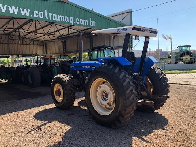 New Holland 7630 4x4 ano 2001 - Foto 2