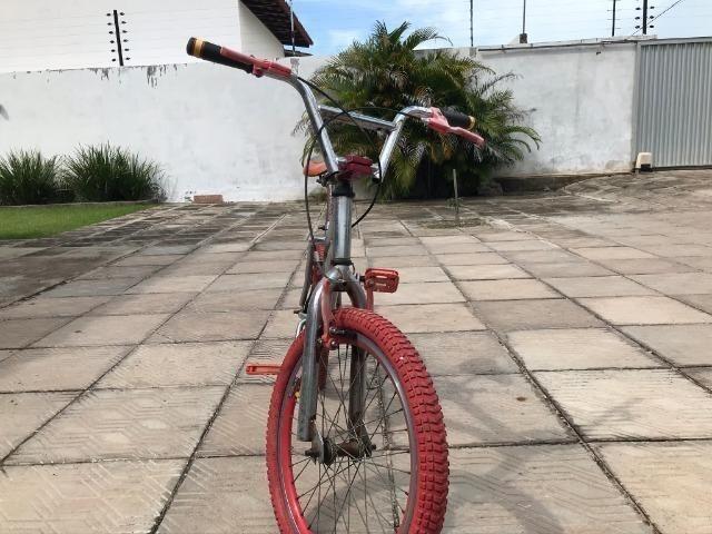 Bicicleta Pers. Vermelha - Foto 2