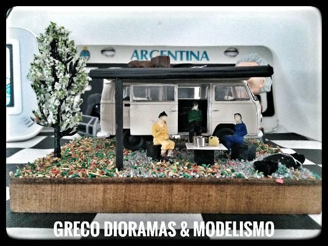 "Diorama - ""VW Kombi Acampamento"" - Foto 3"