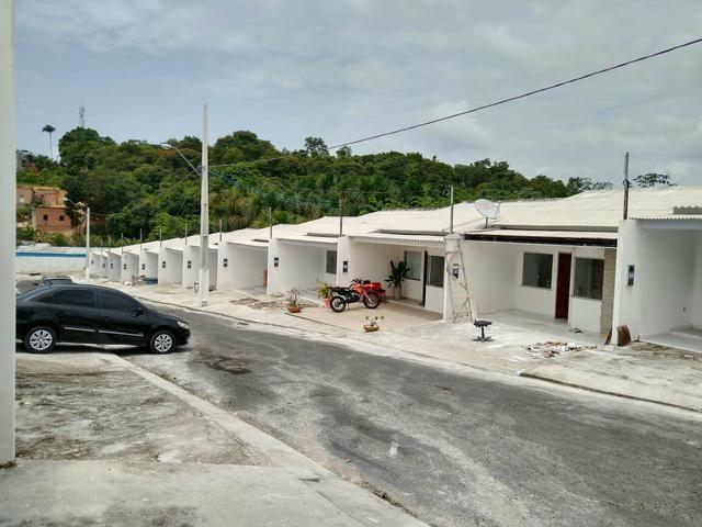 Casas no via norte, aceito carro ou moto como parte do pagamento - Foto 2