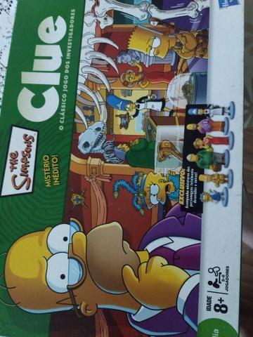 Jogo de tabuleiro Simpsons