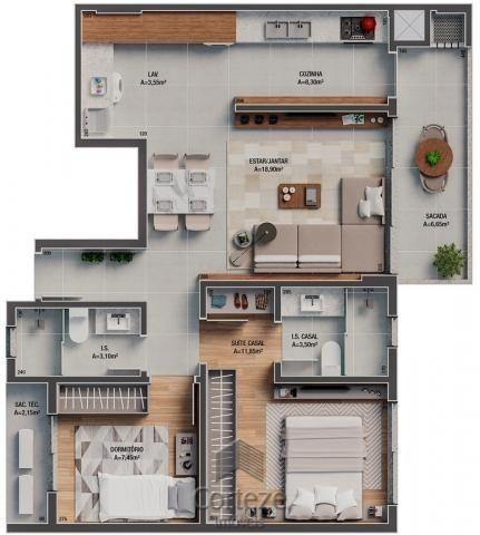 Apartamento 3 quartos com suíte no Batel - Foto 10