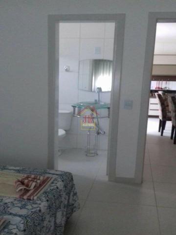 AL@-Apartamento mobiliado com 02 dormitórios com suíte + 01 banheiro social - Foto 7
