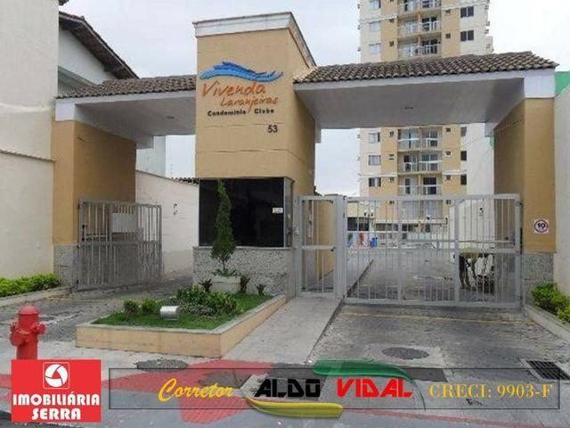 ARV 103. Apartamentos 2 Quartos Com Lazer Completo. Prq. Res. Laranjeiras, Serra-E.S
