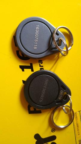 Venda e codificação de chaveiro de acionamento por aproximação