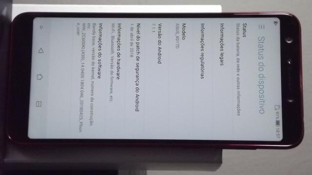 Cel Asus Zenfone 5 Selfie X017d \ 64GB \ 4G Ram \ 20Mpixels\ tela de 6\NOVO! - Foto 6
