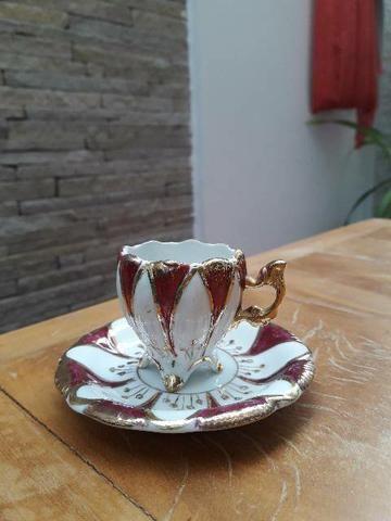 Mini xícara para colecionador