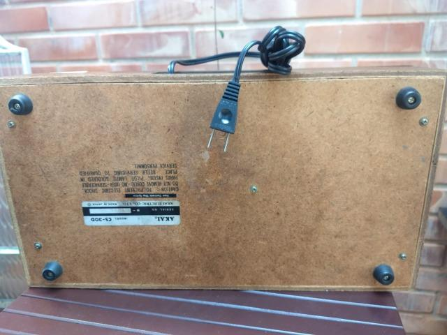 Tape Deck Akai Modelo CS-30D ( leia o anuncio ) - Foto 5