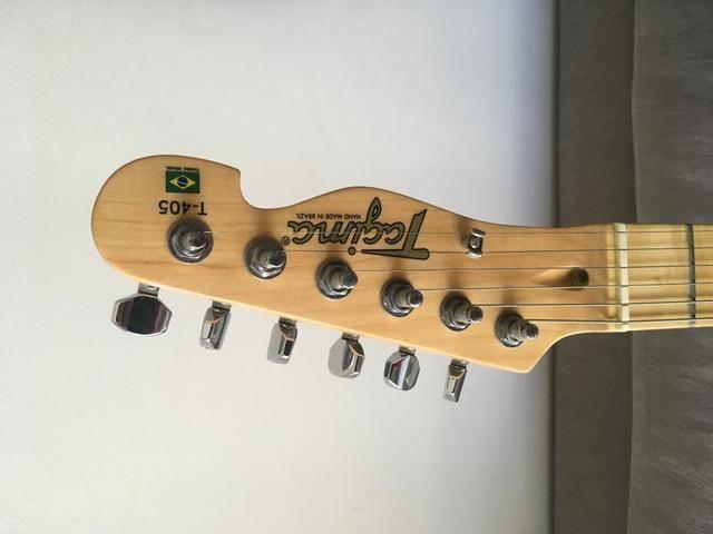 Guitarra Telecaster Tagima T-405 vermelha - Foto 2