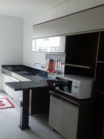AL@-Apartamento mobiliado com 02 dormitórios com suíte + 01 banheiro social - Foto 5