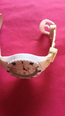 Vendo relógio original só com essas alças usado - Foto 5