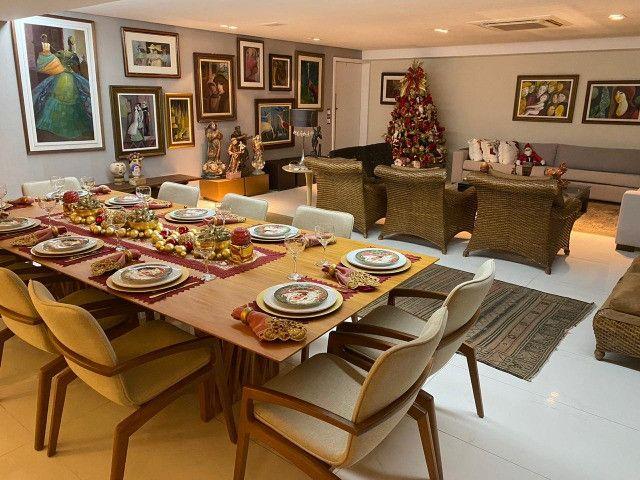 (RBA) Alugo apt. luxuoso, 240m², 3 Suítes, lazer, decorado e mobiliado, vista incrível! - Foto 7