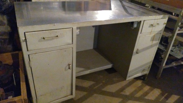 Balcão /escrivaninha de serviço /industrial  / mecânica/chapa de aço - Foto 2