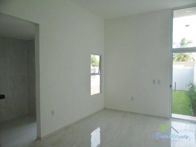 Casa com 3 dormitórios à venda, 85 m² por R$ 249.000,00 - Encantada - Eusébio/CE - Foto 4