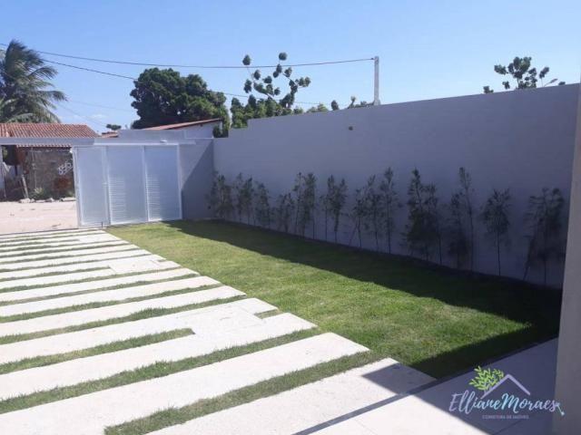 Casa com 3 dormitórios à venda, 85 m² por R$ 249.000,00 - Encantada - Eusébio/CE - Foto 3