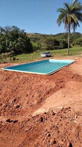 piscina de fibra instalada {{6.20 x 3.00}} - Foto 3