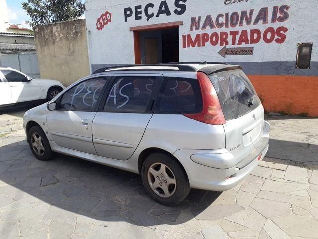 Sucata Peças Peugeot 206 sw 207 lataria motor caixa tudo em peças - Foto 6