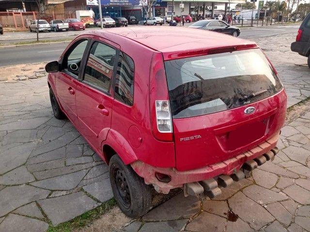 Sucata Peças Ford Fiesta zetec rocam completo compressor caixa - Foto 10