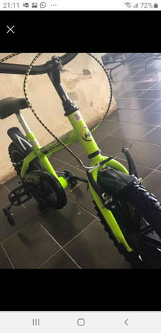 Bicicleta infantil/caminhao de pedal infantil - Foto 2