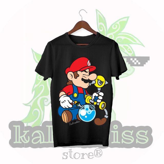 Camisa moda Cannabis - Foto 4