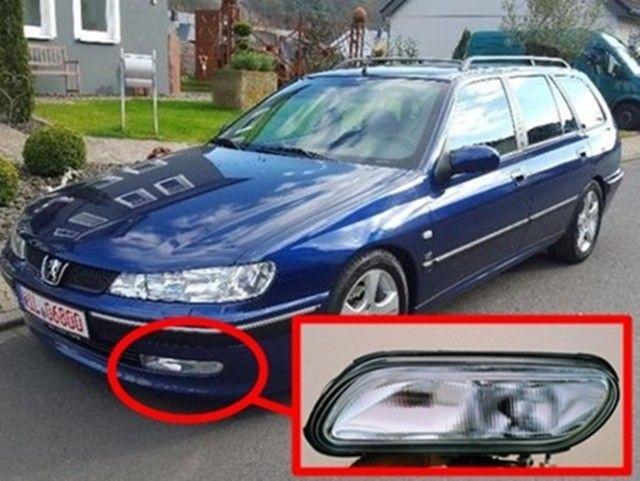 Farol de milha Peugeot 406 ? 95, 96, 97, 98, 99