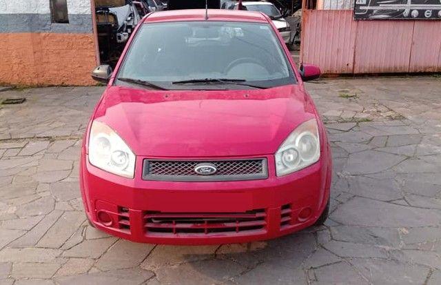 Sucata Peças Ford Fiesta zetec rocam completo compressor caixa - Foto 2