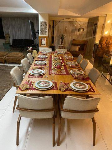(RBA) Alugo apt. luxuoso, 240m², 3 Suítes, lazer, decorado e mobiliado, vista incrível! - Foto 5