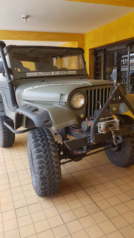 Jeep willys TURBO