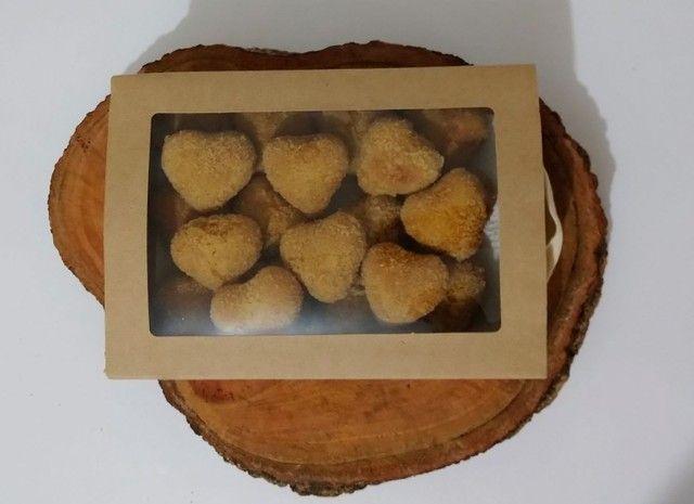 Coxinha frita e congelada - Foto 3