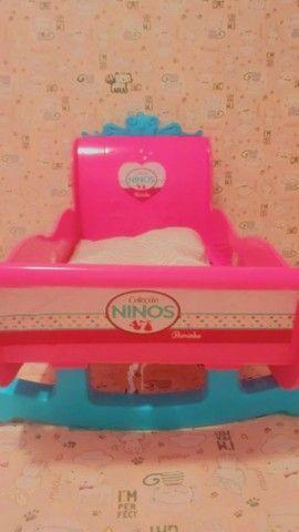 Berço de boneca infantil coleção NINOS beicinho  - Foto 2