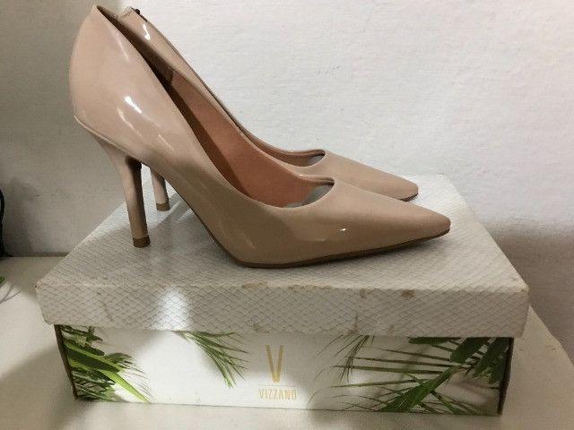 Sapato de salto, cor Nudes n.º 36 -Marca Vizzano - Foto 5