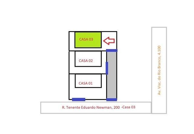 Casa com 2 dormitórios à venda, 40 m² por R$ 155.000,00 - Nereidas - Guaratuba/PR - Foto 18