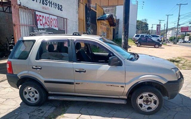 Sucata Peças Ford Ecosport zetec rocam completa tudo em peças - Foto 5