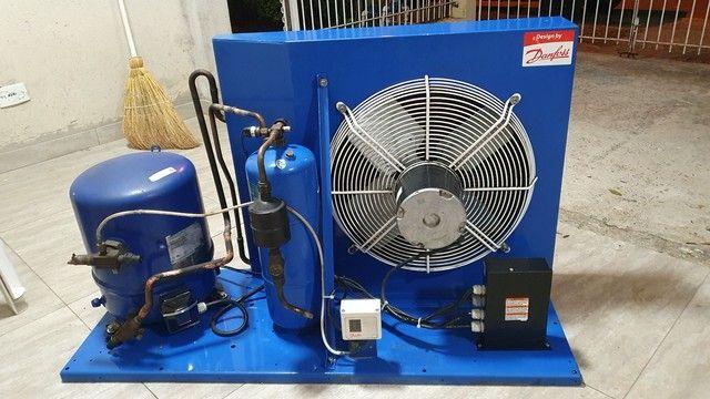 Unidade condensadora Danfoss HJM 50 4.5 HP - Foto 2