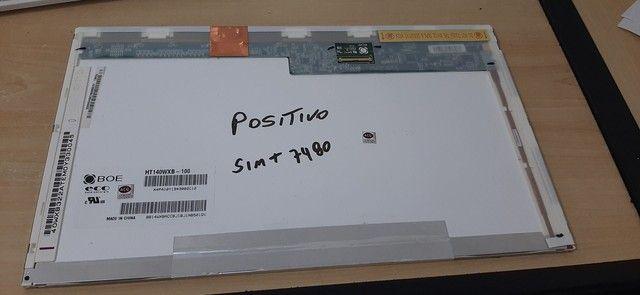 Tela Notebook Positivo Sim+ 7480 original  - Foto 2