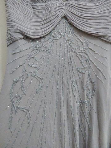 Vestido de festa cinza - Foto 2