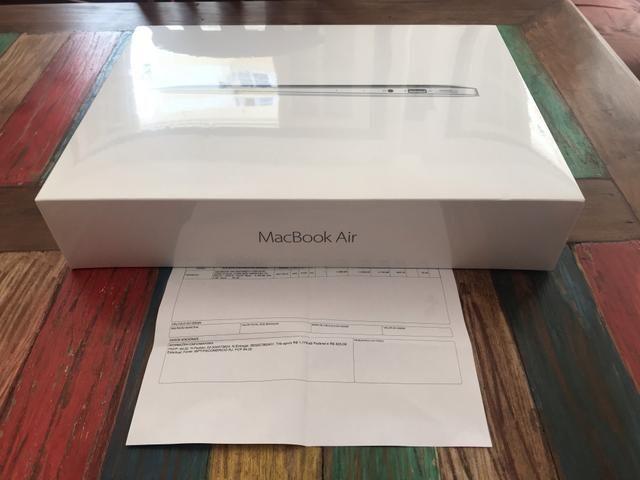 3f6f1c0ce7023 MacBook Air Lacrado na caixa + NF + Parcelo + Aceito troca por Iphone
