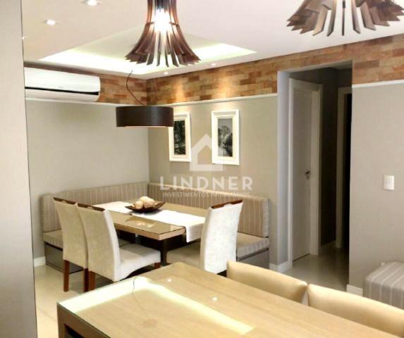 Lindo Apartamento na Vila Nova 3 dormitórios sendo 1 suíte - Mobiliado