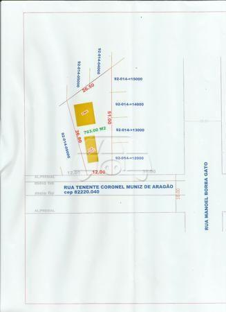 Terreno à venda em Barreirinha, Curitiba cod:142120