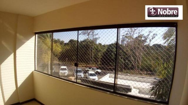 Apartamento com 3 dormitórios para alugar, 112 m² por r$ 1.405,00/mês - plano diretor sul  - Foto 5