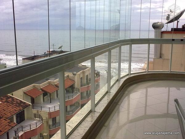 Apartamento 3 Quartos_ Meia Praia _ Vista para mar _ 2 vagas garagem