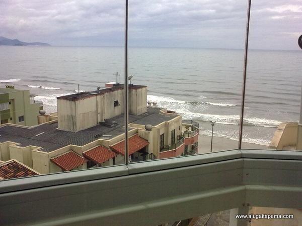 Apartamento 3 Quartos_ Meia Praia _ Vista para mar _ 2 vagas garagem - Foto 2