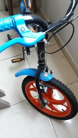 Bicicleta Caloi Hotwheels Aro 16