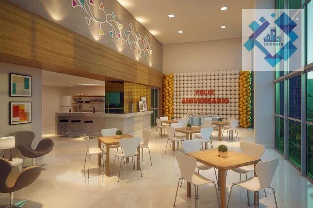Apartamento com 3 dormitórios à venda, 68 m² - Benfica - Fortaleza/CE - Foto 10