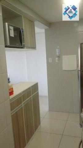 Apartamento com 3 dormitórios à venda, 72 m² por R$ 460.000,00 - Guararapes - Fortaleza/CE - Foto 4